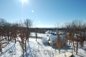View over the St. Croix river valley