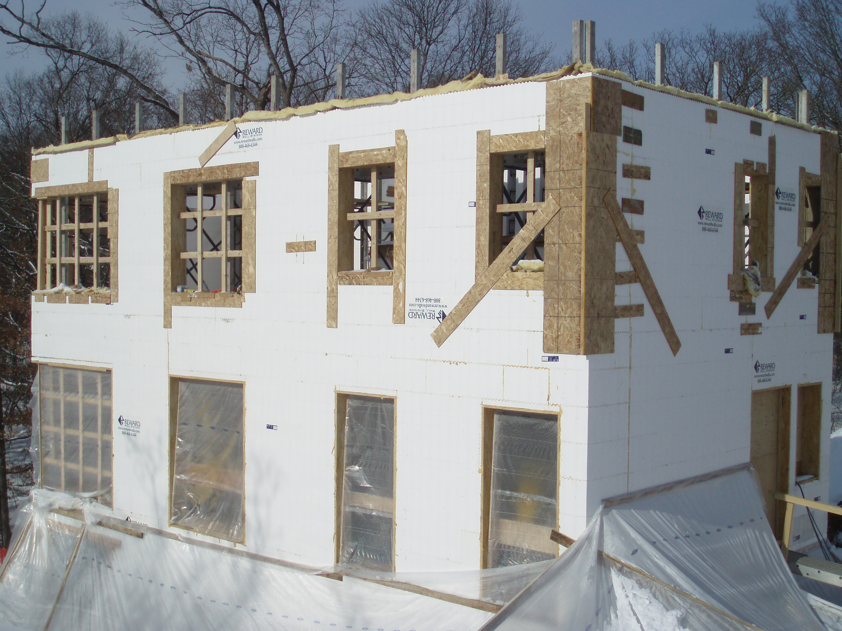 More Insulation And Exterior Impressions 171 Passive House