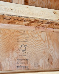 FSC certified plywood sheathing