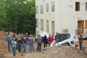 Passive House in the Woods Construction Tour