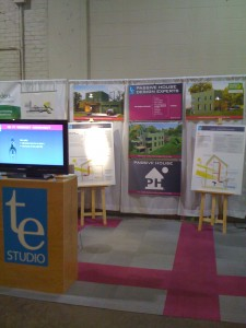 TE Studio booth at LGE 2010