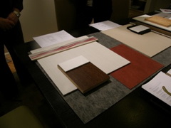Interior Finish Materials.