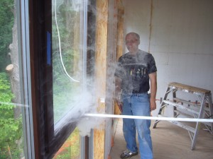 Passive House in the Woods, Smoke Test