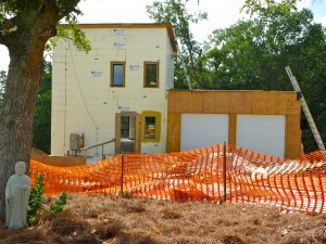 Passive House in the Woods on July 3, 2010