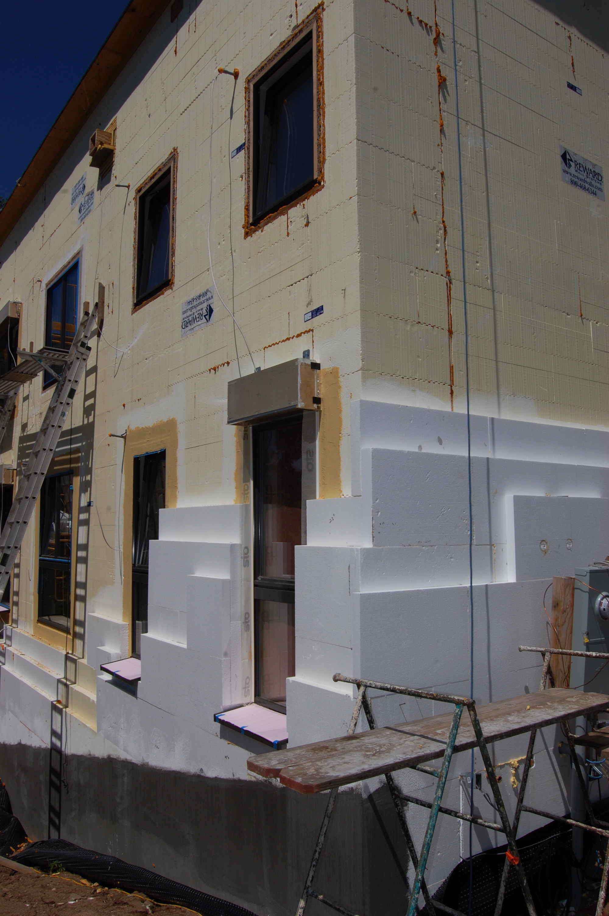 Exterior: Progress Report « Passive House In The Woods