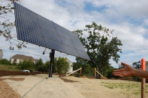 Passive House in the Woods Photovoltaic Tracker
